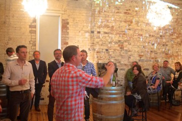 the curious winemaker – first taste wine class