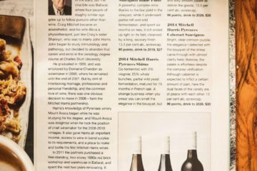 James Halliday magazine feature in The Australian – 96 points!