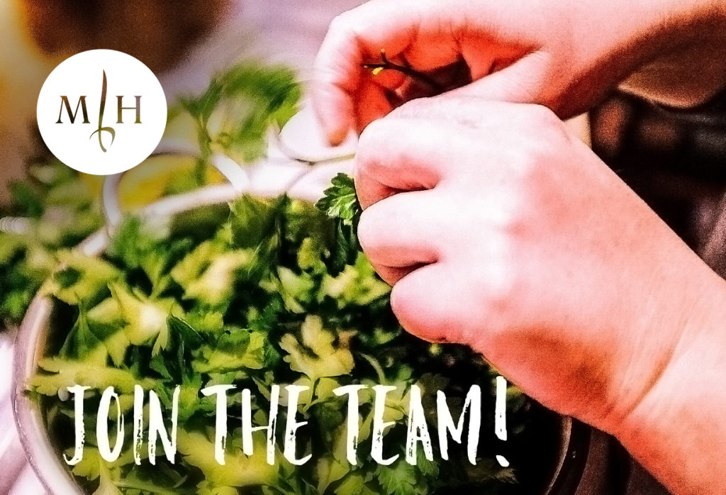 join the kitchen team