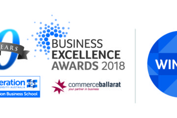 Mitchell Harris wins Business Excellence Award 2018