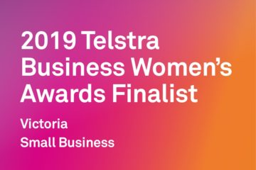 Finalist Telstra Business Women's Awards!